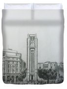 Hamedieh Clock Tower - Beirut Duvet Cover