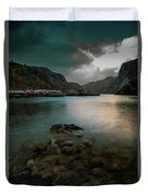 Hamnoy, Lofoten Islands Duvet Cover