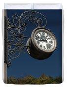 Hanging Clock Duvet Cover