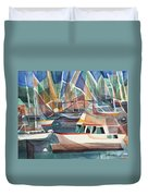 Harbor Island Duvet Cover