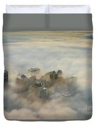 Harborview In The Clouds Duvet Cover