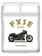 Harley Fxse Duvet Cover