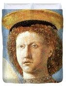 Head Of St. Michael Duvet Cover
