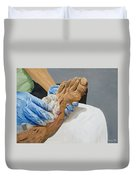 Healing Hands Duvet Cover by Kevin Daly
