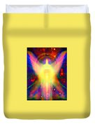 Healing With Light  Duvet Cover