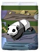 Heathers Panda V2 Duvet Cover