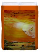 Heavenly Protection Duvet Cover