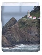 Heceta Head Light Duvet Cover
