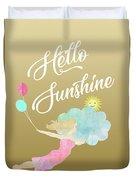 Hello Sunshine Duvet Cover