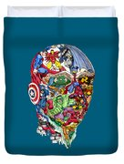 Heroic Mind Duvet Cover