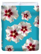 Hibiscus Flower Pattern Duvet Cover