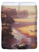 Hidden Path To The Sea Duvet Cover by Steve Henderson