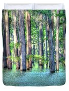 High Bayou Water Duvet Cover