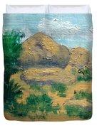 High Desert Rock Garden Duvet Cover