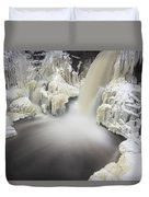 High Falls Pool Duvet Cover