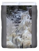 High Falls, Smaller Waterfall Duvet Cover