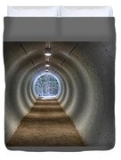 Highway Underpass In Pigeon River Provincial Park Duvet Cover