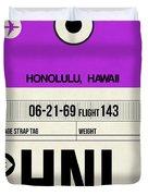 Hnl Honolulu Luggage Tag I Duvet Cover