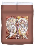 Morning Angel Duvet Cover