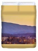 Holston Mountain Over Tennessee High Duvet Cover