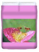 Honeybees Duvet Cover
