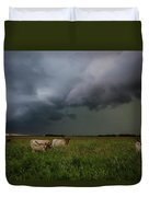 Horns Duvet Cover