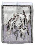 Horse In A Field Duvet Cover