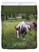Horse Print 578 Duvet Cover