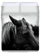 Horse Up-close Duvet Cover