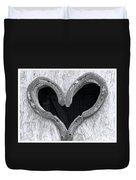 Horseshoe Heart Duvet Cover