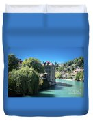 hot summer afternoon in Bern Duvet Cover