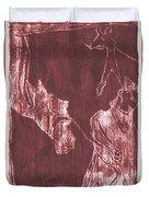 How The Camel Got His Hump Oil Otd Painting 28 Duvet Cover