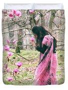 Scent Of Magnolia Duvet Cover