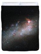 Hubbles Hockey Stick Galaxy Duvet Cover