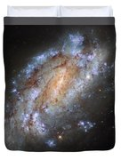 Hubbles Lonely Firework Display Duvet Cover