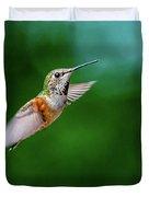 Humming Bird Duvet Cover