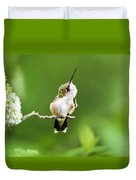 Hummingbird Flexibility Duvet Cover