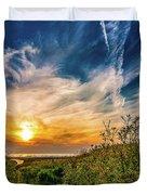 Huron Evening Duvet Cover