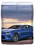 Hyper Blue Duvet Cover