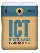 Ict Wichita Luggage Tag I Duvet Cover