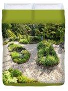 If Gulliver Had A Herb Garden Duvet Cover