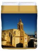 Iglesia De La O, Rota, Spain Duvet Cover