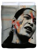 I'll Be Seeing You - Billie Holiday  Duvet Cover