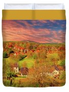 In Our English Towns Duvet Cover