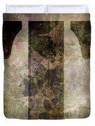 Industrial Letter T Duvet Cover