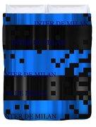 Inter Milan Pixels Duvet Cover