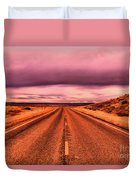 Into Nothingness  Duvet Cover