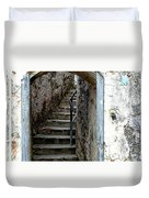 Into The Fort Duvet Cover