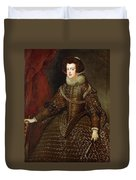 Isabella  Queen Of Spain  Duvet Cover