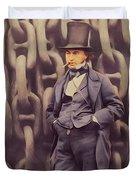 Isambard Kingdom Brunel, Genius Duvet Cover